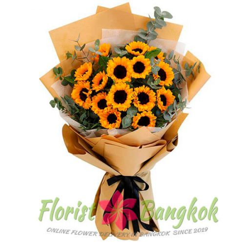 15 Sunflowers from Florist-Bangkok - Online Flower Delivery Bangkok