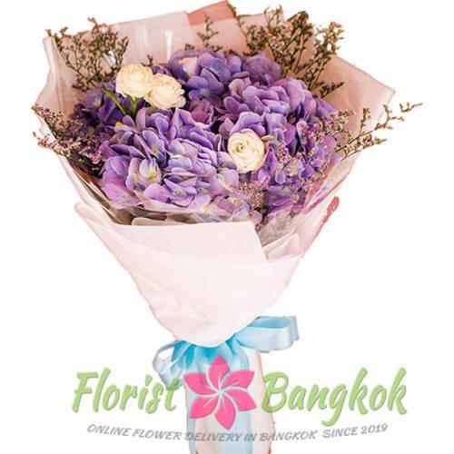 Hidrangea bouquet from Florist-Bangkok - Online Flower Delivery Bangkok